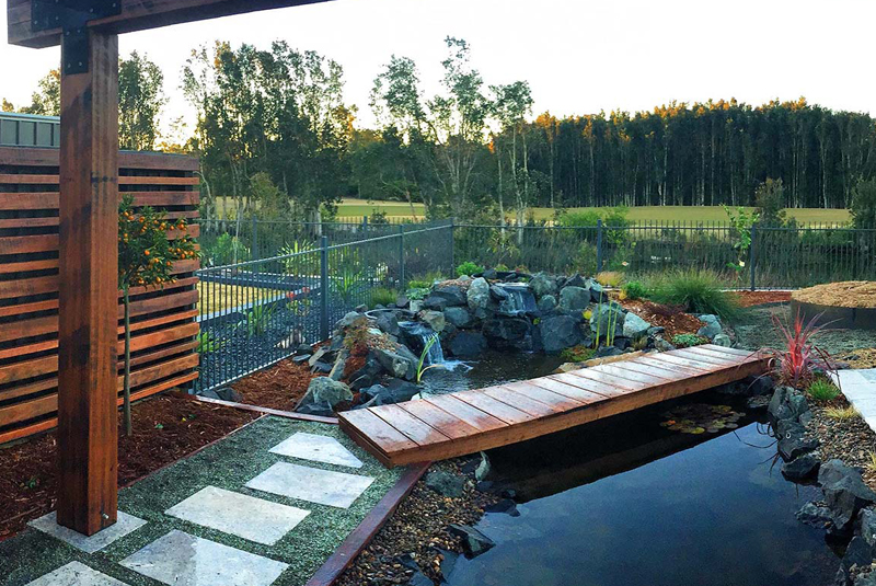 Landscaping and garden construction