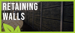 Retaining Walls Around Pool